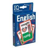 IQКарточки Умные игры. Английские неправильные глаголы. Уровень 2 (100 карточек) (синий), (Айрис, 2018), Кор, c.1