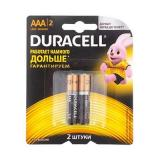 Батарейка Duracell LR03 Basic BL-2