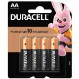 Батарейка Duracell LR6 Basic BL-4