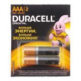Батарейка Duracell LR03 Basic BL-2 (2х6)