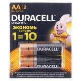 Батарейка Duracell LR6 Basic BL-2 (2*6)