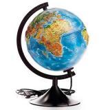 Глобус d=210 ГЛОБЕН Классик Евро рельефный физический Ке022100183