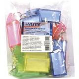 Брелки д/ключей deVENTE 4050700 полупрозр.пластик,блист.,асс. (цена за 1шт)