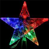 Верхушка для елки светодиодная RG/RB 10л. Звезда, 15см 111-329