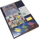 Набор самокл. этикеток-закладок deVENTE Neon A4 210*297мм 2060500 (1*50шт) желтые,к/к