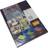 Набор самокл. этикеток-закладок deVENTE Neon A4 210*297мм 2060503 (1*50шт) оранж.,к/к