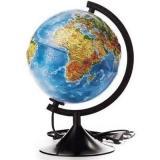 Глобус с подсв. d=210 ГЛОБЕН Классик рельефный физико-политический К022100091