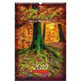 Календарь настенный 2019г. ХАТ спираль Люкс