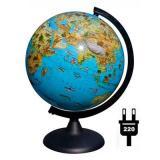 Глобус с подсв. d=250 ГЛОБЕН Классик Евро зоогеографический Ве012500268