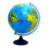 Глобус с подсв. d=320 ГЛОБЕН Классик Евро физико-политический рельефный Ве023200267