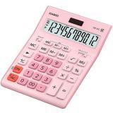 Калькулятор наст. CASIO GR-12C-PK 12разр., розовый 877155