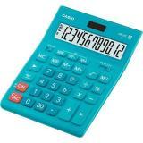 Калькулятор наст. CASIO GR-12C-LB 12разр., бирюзовый 904861