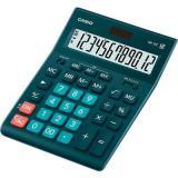 Калькулятор наст. CASIO GR-12C-DG 12разр., темно-зеленый 912612
