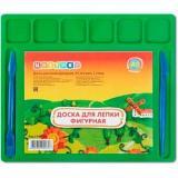 Доска для лепки Цветик А5 5746530 фигурная,цв.,6 ячеек+2 стека