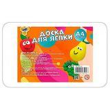 Доска для лепки ПЧЕЛКА А4  ДЛ-411 белая, эконом