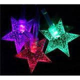 Гирлянда светодиод. LED Звезда 2,5м 20ламп,проз.провод, авторежим 183-791