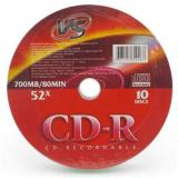 Диск CD-R VC 52х 80мин.  10шт. Shrink