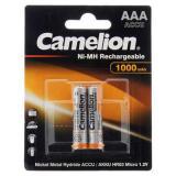 Аккумулятор Camelion AAA-1000mah Ni-Mh BL-2 R03