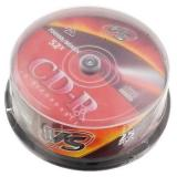Диск CD-R VC 52х 80мин.  25шт. Box
