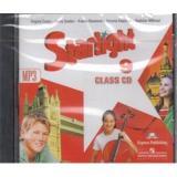 CD Аудиокурс к учеб. Барановой Звездный английский 9кл (1 диск mp3) д/занятий в классе, (Просвещение, 2014), Кор