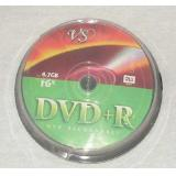 Диск DVD+R VS 4.7 Gb 16х Cake box 10