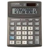 Калькулятор наст. Citizen Correct 480264 SD-212/ CMB1201BK 12разр.
