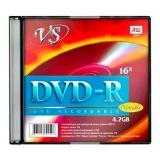 Диск DVD-R VS 4.7 Gb 16х Slim