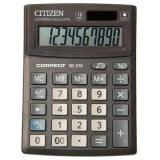 Калькулятор наст. Citizen 480263 SD210/CMB1001BK Correct 10разр.