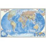НастеннаяКарта Политическая карта мира (М1:25 млн., 124*80см, ламинированная), (ДонГИС), Л, c.1