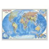 НастеннаяКарта Политическая карта мира (М1:27,5 млн., 101*69см, ламинированная) (64762), (Геодом,ДонГИС), Л, c.1