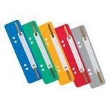 Вставка-скоросшиватель EK Fastener Strip 30663 с перфорацией, асс.