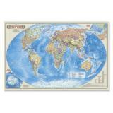 НастеннаяКарта Политическая карта мира (М1:55 млн., 58*38см, бумажная) (1442/51442), (Геодом,ДонГИС), Л, c.1