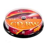 Диск CD-RW VS 4-12х 700Mb 10шт. Box