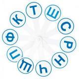 Касса (веер) согласные буквы ВК02