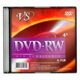 Диск DVD-RW VS 4.7 Gb 4х slim