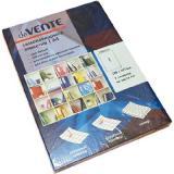 Набор самокл. этикеток-закладок deVENTE A4 210*297мм 2060320 (1*100шт.) к/к