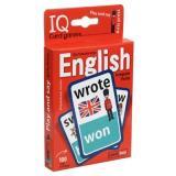 IQКарточки Умные игры. Английские неправильные глаголы. Уровень 1 (100 карточек) (от 9 лет) (красный), (Айрис, 2021), Кор, c.100