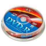 Диск DVD-R VS 4.7 Gb 16х Cake box 10