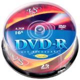Диск DVD-R VS 4.7 Gb 16х Cake box 25