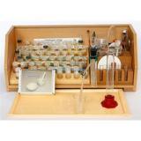 Микролаборатория для химического эксперимента (ППГ, набор керамики и фарфора) 3046, (Химлабо, 2020), Кор