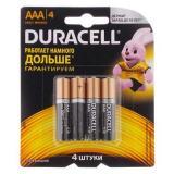 Батарейка Duracell LR03 Basic BL-4 NEW